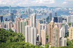 Victoria Peak Hong Kong Stock Image