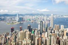 Victoria Peak Hong Kong Stock Photography