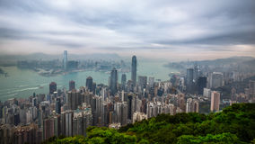 Victoria peak Stock Images