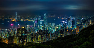Victoria peak Royalty Free Stock Images