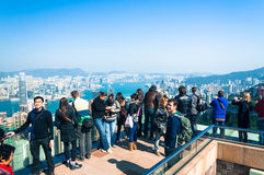 Victoria Peak Royalty Free Stock Photography