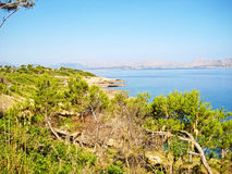 Victoria peninsula - north coast of Majorca Stock Images