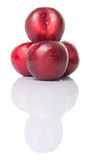 Victoria Plum Or Red Plum XI Stock Photos