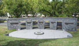 Victoria Police Memorial, Kings Domain, Melbourne, Australia. Stock Image