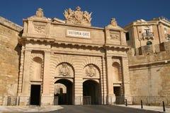 Victoria port - Valletta arkivfoto