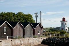 Victoria - Prinz Edward Island lizenzfreie stockbilder