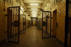 Victoria prison. A snapshot in victoria prison stock photo