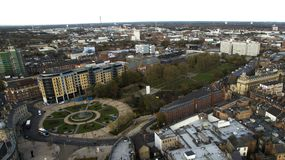Victoria quadra, Kingston Upon Hull, guida orientale del Yorkshire fotografia stock libera da diritti