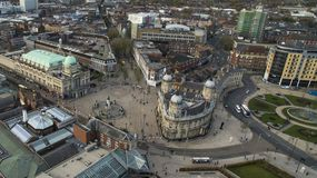 Victoria quadra, Kingston Upon Hull, guida orientale del Yorkshire immagini stock libere da diritti