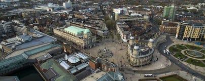 Victoria quadra, Kingston Upon Hull, guida orientale del Yorkshire immagine stock libera da diritti
