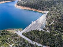 Victoria Reservoir Images libres de droits