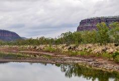 Victoria River NT Royaltyfri Foto