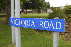 Victoria road Royalty Free Stock Photos
