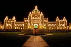 Victoria's parliament Stock Photography