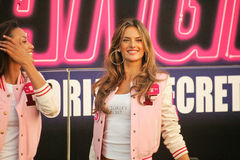 Victoria's Secret,Alessandra Ambrosio,Bob Hope Royalty Free Stock Image