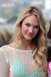 Victoria's Secret, Candice Swanepoel Photographie stock
