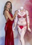 Victoria's Secret-de Fantasiebustehouder van Droomengelen Stock Afbeelding