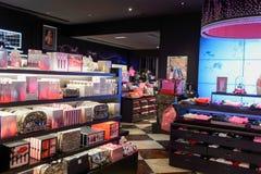 Victoria's Secret immagazzina l'interno Fotografie Stock