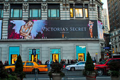 Victoria's Secret Manhattan, NYC Royalty Free Stock Photos