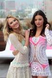 Victoria's Secret, Miranda Kerr, Candice Swanepoel Stock Afbeeldingen