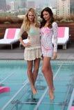 Victoria's Secret, Miranda Kerr, Candice Swanepoel Royalty-vrije Stock Foto