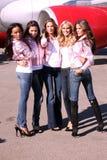 Victoria's Secret models Royalty Free Stock Image