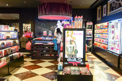 Victoria's Secret store interior Royalty Free Stock Images