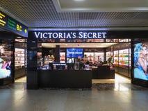 Victoria`s Secret store in Riga Stock Image