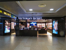 Victoria`s Secret store in Riga Royalty Free Stock Photography