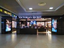 Victoria`s Secret store in Riga Stock Images