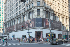 Victoria`s Secret store in Sixth Ave, New York Royalty Free Stock Images