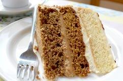 Victoria Sandwich Cake Image libre de droits