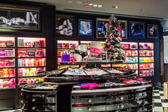 Victoria secret store. With beautiful interiors in hongkong china Royalty Free Stock Photography