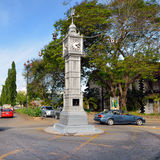 Victoria, Seychellen Hauptstadt Stockfotografie