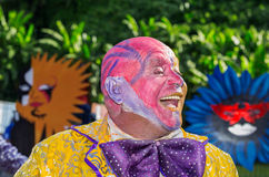 VICTORIA, SEYCHELLES – April 26, 2014: Clown from Mauritius is Royalty Free Stock Images
