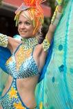 Victoria, Seychelles - February 9, 2013:  Female d Stock Image