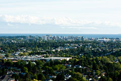 Victoria skyline Royalty Free Stock Photos