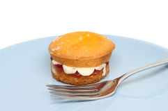 Victoria sponge Royalty Free Stock Photography