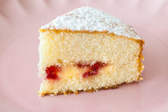 Victoria Sponge Royalty Free Stock Images