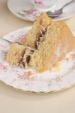 Victoria sponge cake Royalty Free Stock Photography