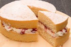 Victoria Sponge cake Royalty Free Stock Image