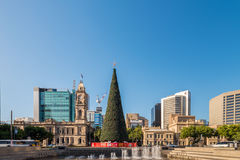 Victoria Square in Adelaide Stockbild