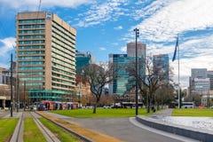 Victoria Square, Adelaide CBD, Süd-Australien Stockfotografie