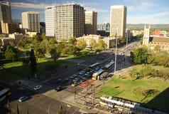 Victoria Square, Adelaide, Süd-Australien Lizenzfreie Stockfotos