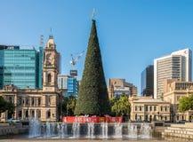 Victoria Square em Adelaide Imagens de Stock Royalty Free