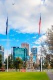 Victoria Square fountain, Adelaide CBD, South Australia Stock Image