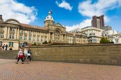 Victoria Square i Birmingham Arkivbild