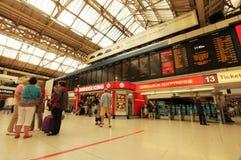 Victoria-station Stock Afbeeldingen