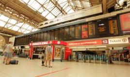 Victoria-station Royalty-vrije Stock Afbeelding