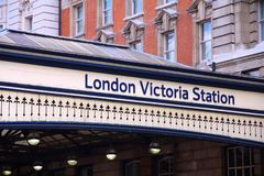 Victoria Station Stock Images